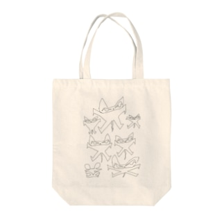 neko by さわそん Tote bags