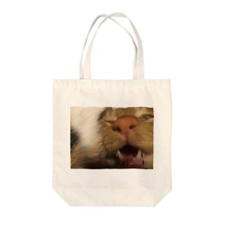 猫、その顔で大丈夫か? Tote bags