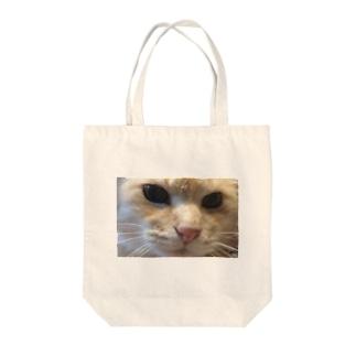 被災猫キマリ Tote bags
