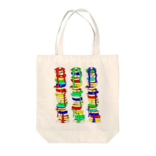 モノタベ!/ホットケーキ Tote bags