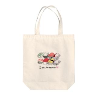 チラ寿司 Tote bags