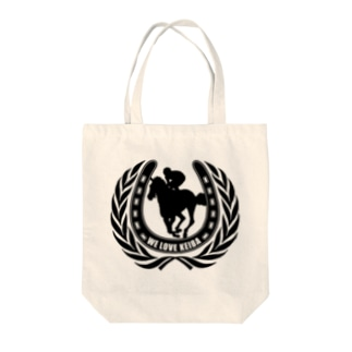 We Love Keiba Tote bags