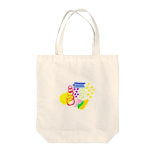 クレヨンふりかけ Tote bags