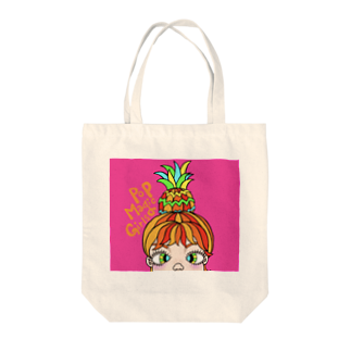 Pop Magic GirlsのPineapple girl🍍 Tote bags