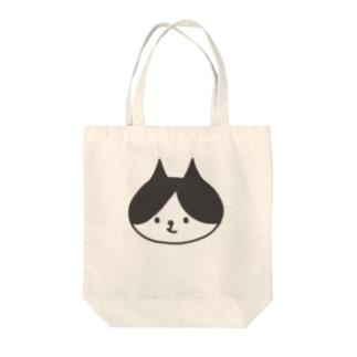 ハチワレキャット Tote bags