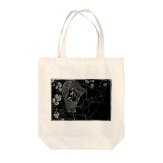 Mulberry Girl ~Black back~ Tote bags