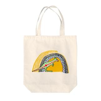 Kangaroo #1 Tote bags