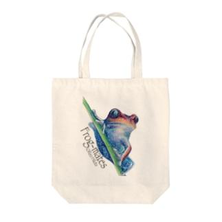 カエルメイト(Frog-mates)より「ホシゾラアカガエル」 Tote bags
