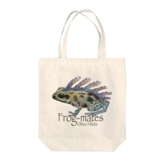カエルメイト(Frog-mates)より「セビレガエル」 Tote bags