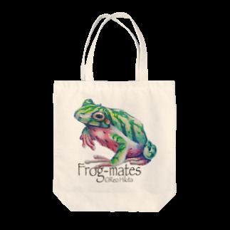 引田玲雄 / Reo Hikitaのカエルメイト(Frog-mates)より「スイカエル」 Tote bags