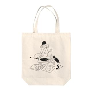 6時の集会 Tote bags