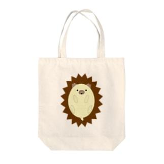 ハリネズミ-1 Tote bags