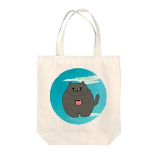 猫ベイ② Tote bags