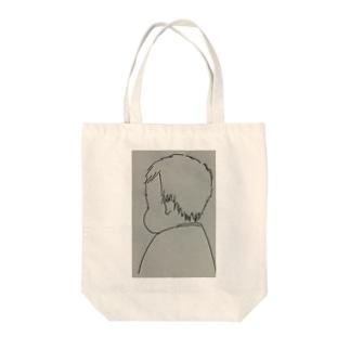○○○のホッペ Tote bags