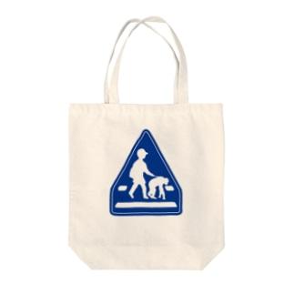横断舗装 Tote bags