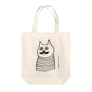 バウの「動けない小林さん」 Tote bags