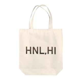 HNL HI Tote bags
