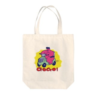 gogo Tote bags