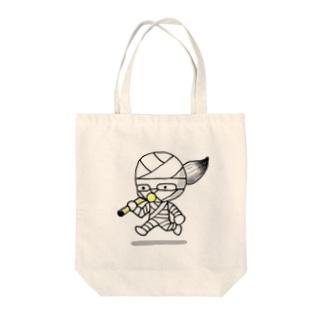 コッピーくん Tote bags