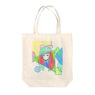 目つきはわるめ-sukesu case Tote bags