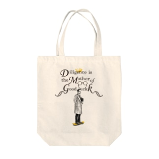 Mr.Diligence Tote bags