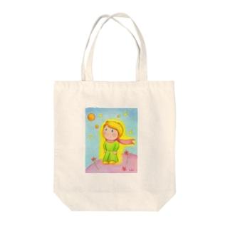 リトルプリンス Tote bags