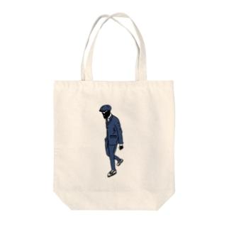 くろひと Tote bags