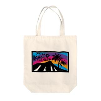 Rainbow Paradise Tote bags