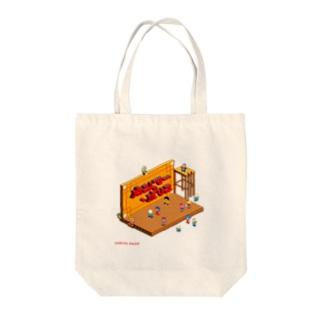 カンフー・ポリス Tote bags