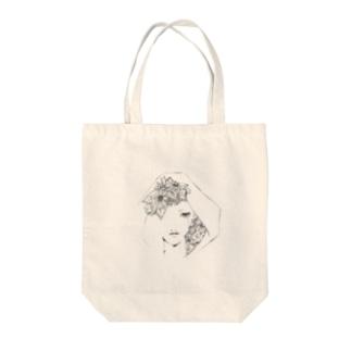 再会の花 Tote bags