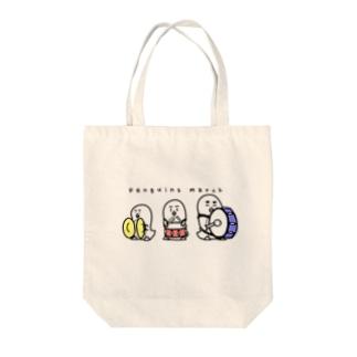 ペンギンズ・マーチ Tote bags