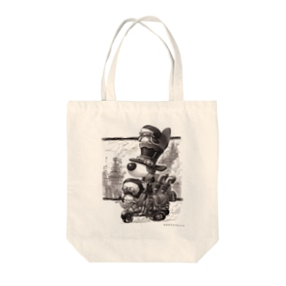 トトくんスチームパンク風 Tote bags
