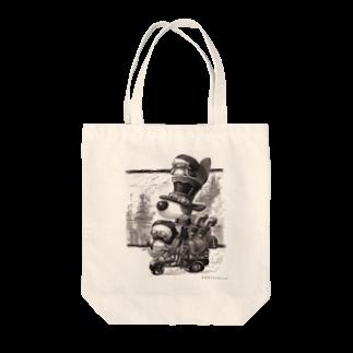 NEGI@トトくん・ひとえうさぎのトトくんスチームパンク風 Tote bags