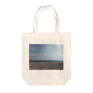 そこが太平洋 Tote bags