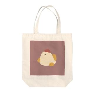 にわとりとひよこ Tote bags