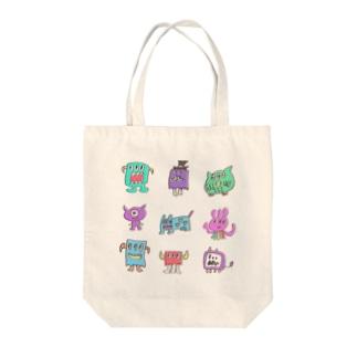 イケイケモンスターズ Tote bags