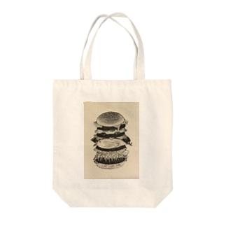 ジャンクジャンクジャンクバーガー Tote bags