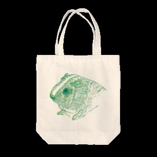 nins・にんずの緑と黄色のモルモット Tote bags
