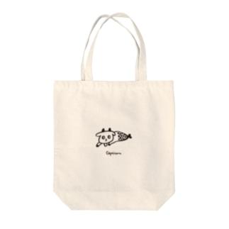 ゆる山羊さん Tote bags