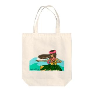 Hula  girl🌺 Tote bags