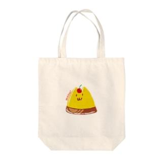 プリンらしきネコ Tote bags