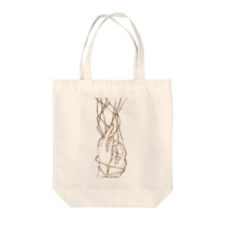 縄遊び Tote bags