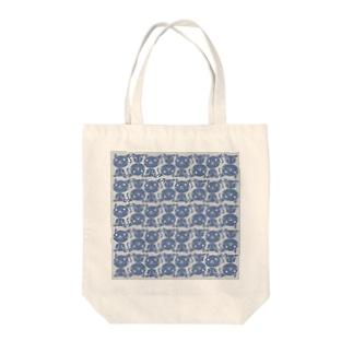 シックな石版ニャンコ Tote bags