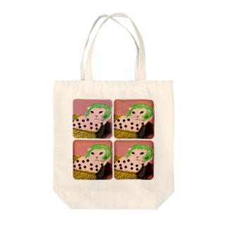 popartタロウ Tote bags