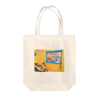 オルチャンファッション Tote bags