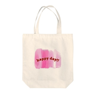happy day!! Tote bags