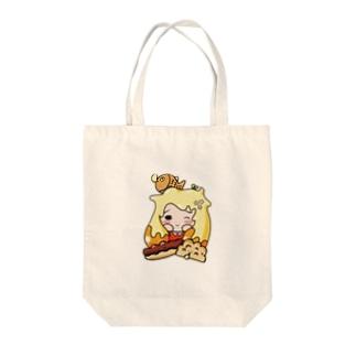 カスタードが大好きな女の子 Tote bags