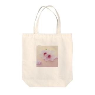 桜(ピンク) Tote bags