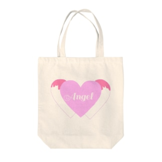 Angel Heart Tote bags