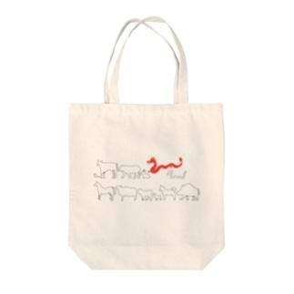 十二支(辰) Tote bags